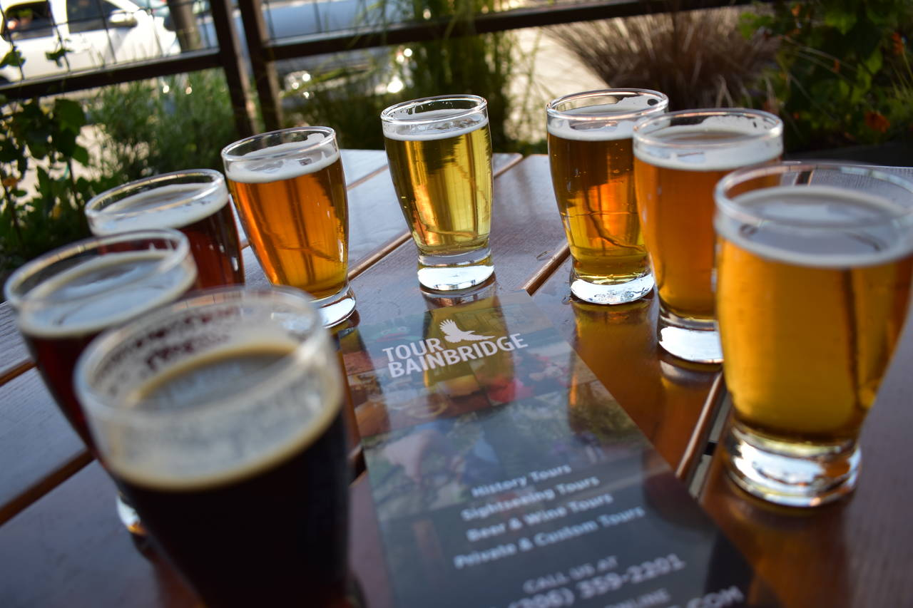 Tour Bainbridge Brewery Tours